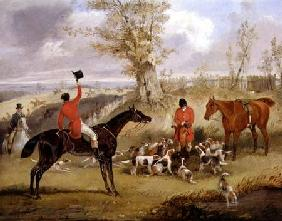 Hunting Scene: The Death