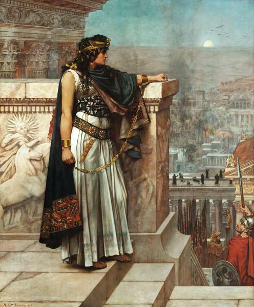 Zenobia's last look on Palmyra
