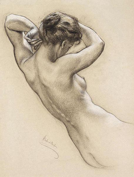 Study for a water nymph