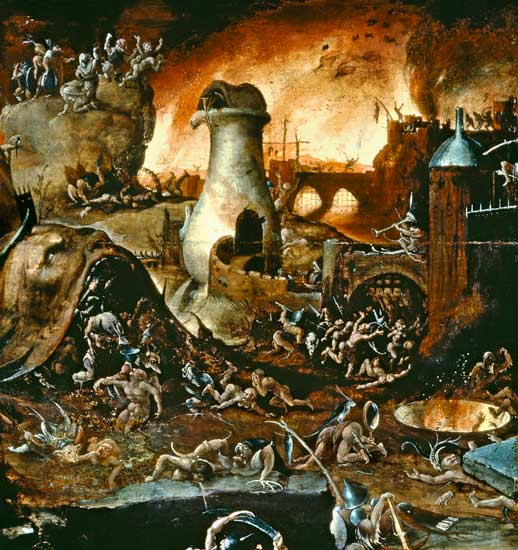 Interpretation Of Hell. in the Hell envisioned by