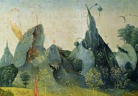 The Garden of Eden, detail from the right panel of The Garden of Earthly Delights