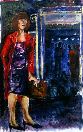 Waiting Woman, 2005 (oil on canvas)