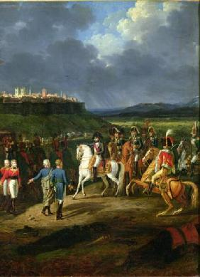 The English Prisoners at Astorga Being Presented to Napoleon Bonaparte (1769-1821) in 1809