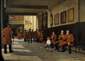 Little Peter and the Chelsea Pensioners
