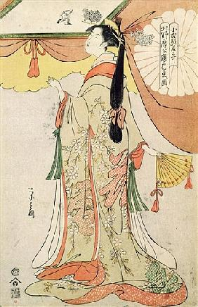 The Poetess Ko-Shibuku
