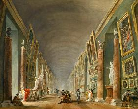 The Grand Galery of the Louvre