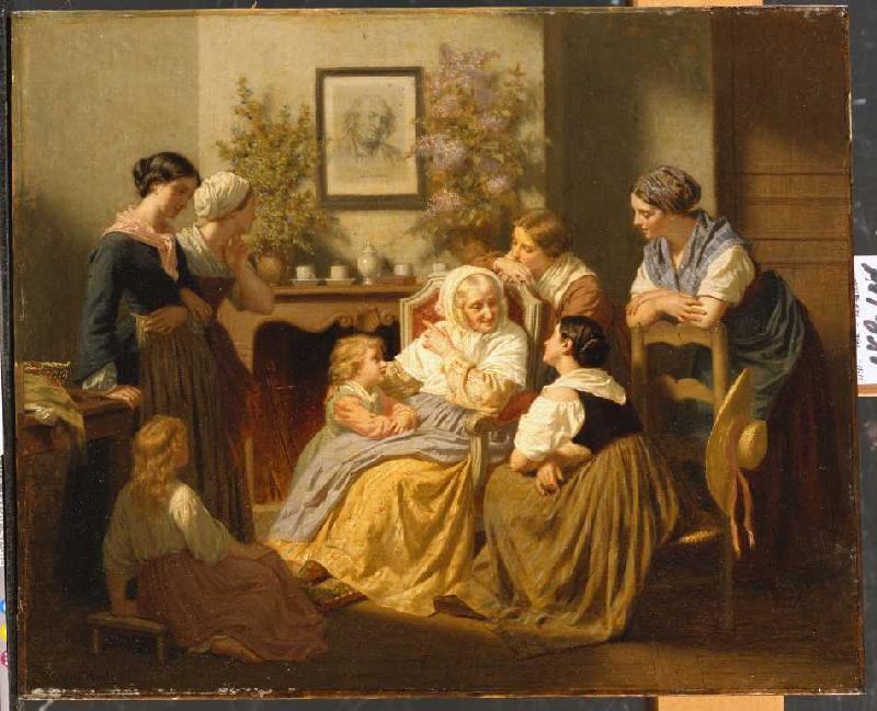 hugues merle en reproductions imprim es ou peintes sur repro tableaux com. Black Bedroom Furniture Sets. Home Design Ideas