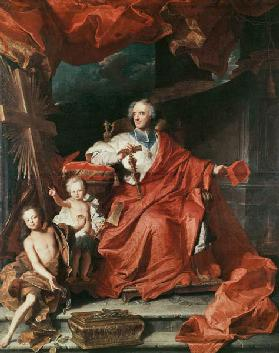 Cardinal de Bouillon (1643-1715) Opening the ''Holy Door''
