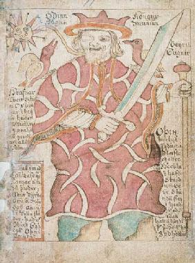 Odin, from 'Melsted's Edda'  &