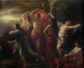 Dancers, 1891 (oil on canvas)