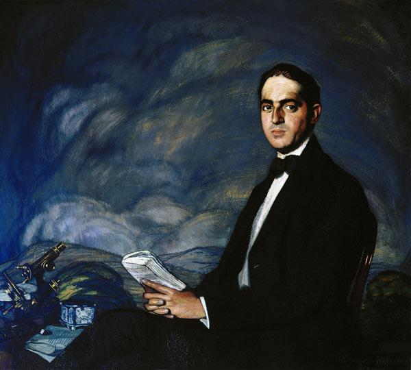 Portrait of Gregorio Marañón