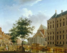 Back of New Palace and Church, Amsterdam