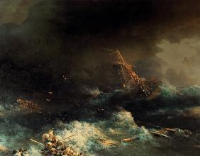 Sinking of Ingermanland / Norway / 1842