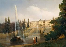 Peterhof,Castle,Great Cascade, Aiwasowski