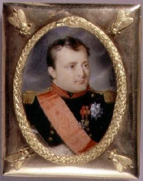 Portrait Miniature of Napoleon Bonaparte (1769-1821) 1815 (w/c on ivory)