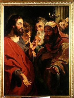 Jordaens, Jacob : Christ Instructing Nicodem...