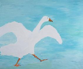 I''m Late Again, 2000 (oil on canvas)