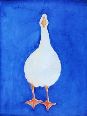 It''s a Lovely Day to be a Goose, 2000 (oil on canvas)