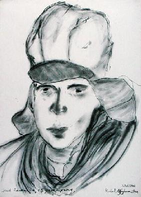 Jawid Amammudin, 14th February 2002 (charcoal on paper)