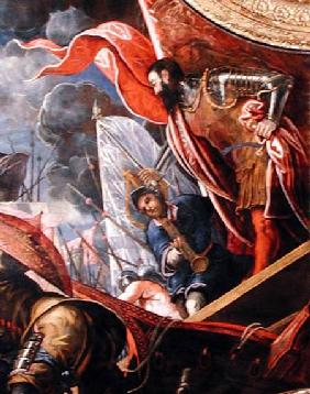 Victory of the Venetians over the Ferrarans at Argenta  (detail)