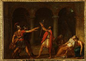 The Oath of the Horatii (Study)
