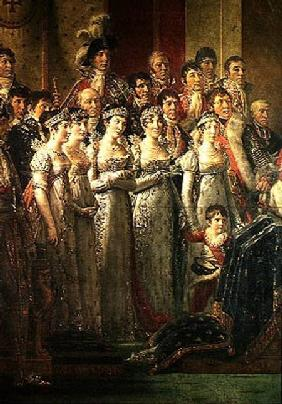 The Consecration of the Emperor Napoleon (1769-1821) and the Coronation of the Empress Josephine (17
