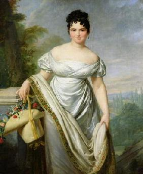 Madame Tallien (1773-1835) (oil on canvas)
