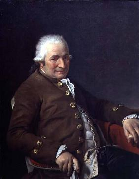 Portrait of Charles-Pierre Pecoul, father-in-law of the artist