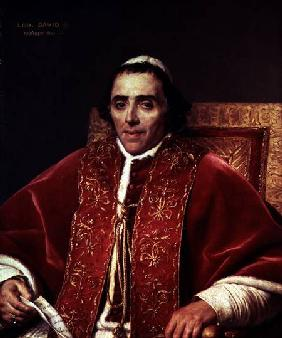 Portrait of Pope Pius VII (1742-1823)