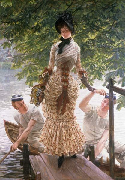 J.Tissot, On the Thames