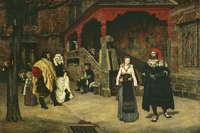 The Meeting of Faust and Marguerite