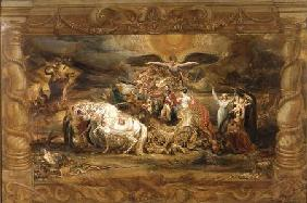 The Triumph of Arthur (1769-1852) Duke of Wellington