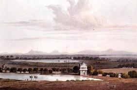 Second view looking north from the Pagoda near Conjeveram, from 'Journal of a Voyage in 1811 and 181