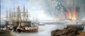 The Bombardment of Sebastopol
