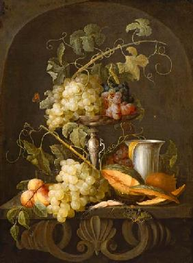 nature morte avec des fruits