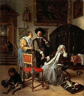 Physician''s Visit, c.1663-65