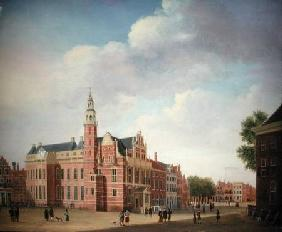 View of the Old Town Hall, The Hague