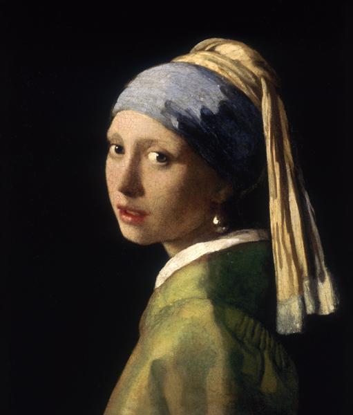 La Jeune Fille A La Perle Peinture Huile Sur Toile De Jan Vermeer Van Delft