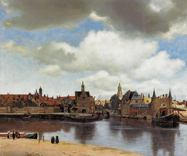 jan vermeer van delft en reproductions imprim es ou peintes sur repro tableaux com. Black Bedroom Furniture Sets. Home Design Ideas
