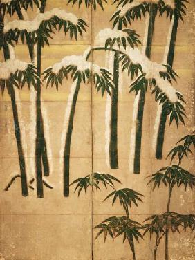 Bamboo, Momoyama Period (1568-1615) (ink on paper)