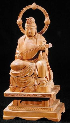 Benzaiten playing a biwa