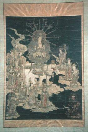 Samantabhadra on his White Elephant