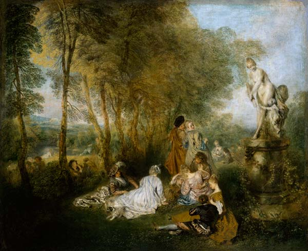 Antoine Watteau Paintings