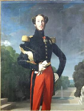 Ferdinand-Philippe (1810-42) Duke of Orleans in the Park at Saint-Cloud