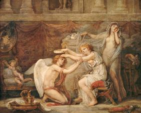 Psyche crowning love