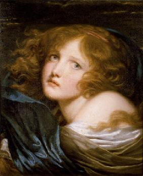 Head and Shoulders of a Young Woman
