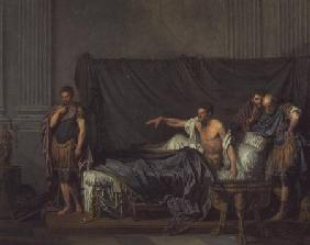 The Emperor Severus Rebuking his Son, Caracalla, for Wanting to Assassinate Him