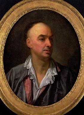 Portrait of Denis Diderot (1713-84)