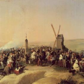 Louis-Philippe (1773-1850) Visiting the Battlefield of Valmy on 8th June