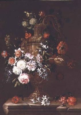 Still Life of flowers in an Urn